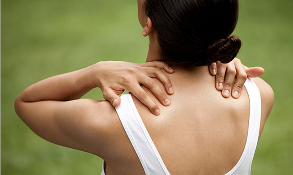 Ease neck, shoulder, and upper back tension