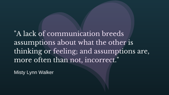 On communication…